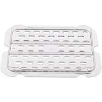 Rubbermaid FG113P24CLR 1/4 Size Clear Drain Tray