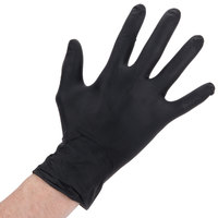 Nitrile Heavy Duty Gloves 6 Mil Thick Large Powder-Free