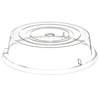 Carlisle 199307 11 inch Clear Plate Cover - 12/Case