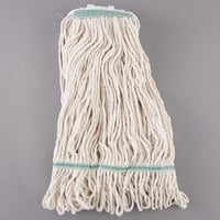 Continental A02512 J.W. Atomic Loop™ 24 oz. Blend Loop End Natural Mop Head with 1 1/4 inch Band