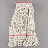 Continental A02511 J.W. Atomic Loop™ 16 oz. Blend Loop End Natural Mop Head with 1 1/4 inch Band