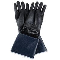 San Jamar T1217 Rotissi-Glove 17 inch Neoprene Gloves - Elbow Length