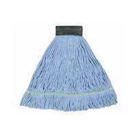 Continental A02601 16 oz. Blue Blend Loop End Mop Head with 5 inch Band