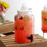 Acopa 1 Gallon Glass Beverage Dispenser