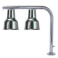 Hanson Heat Lamps FLD/FM/CH Dual Bulb Heat Lamp with Chrome Finish
