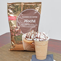Big Train 3.5 lb. Mocha Blended Ice Coffee Mix