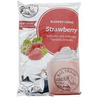 Big Train 3.5 lb. Strawberry Blended Creme Frappe Mix