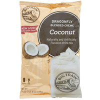 Big Train Dragonfly Coconut Blended Creme Frappe Mix - 3.5 lb.