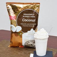 Big Train 3.5 lb. Dragonfly Coconut Blended Creme Frappe Mix