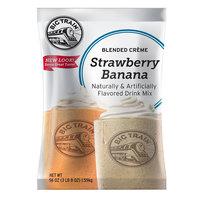 Big Train Strawberry Banana Blended Creme Frappe Mix - 3.5 lb.