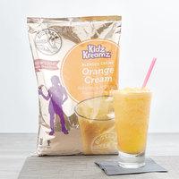 Big Train 3.5 lb. Orange Cream Kidz Kreamz Blended Creme Frappe Mix