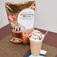 Big Train 3.5 lb. Peppermint Mocha Blended Ice Coffee Mix