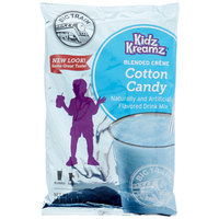 Big Train 3.5 lb. Cotton Candy Kidz Kreamz Blended Creme Frappe Mix