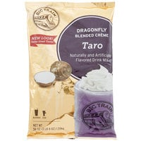 Big Train 3.5 lb. Dragonfly Taro Blended Creme Frappe Mix