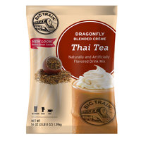 Big Train Dragonfly Thai Tea Blended Creme Frappe Mix - 3.5 lb.