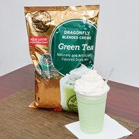 Big Train 3.5 lb. Dragonfly Green Tea Blended Creme Frappe Mix