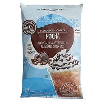 Big Train 3.5 lb. Reduced Sugar Mocha Blended Ice Coffee Mix