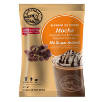 Big Train No Sugar Added Mocha Blended Ice Coffee Mix - 3.5 lb.