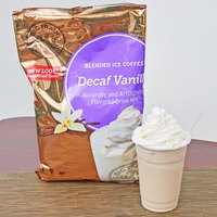 Big Train 3.5 lb. Decaf Vanilla Latte Blended Ice Coffee Mix