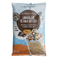 Big Train 3.5 lb. Chocolate Peanut Butter Blended Ice Coffee Mix