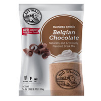 Big Train Belgian Chocolate Blended Creme Frappe Mix - 3.5 lb.