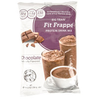 Big Train Fit Frappe Chocolate Protein Drink Mix - 3 lb.