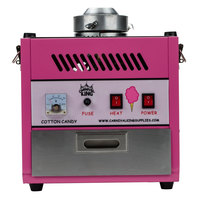 carnival king ccm28 cotton candy machine with 28 inch stainless steel bowl 110v - Cotton Candy Machines
