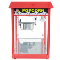 Carnival King PM30R Royalty Series 8 oz. Red Popcorn Popper - 120V