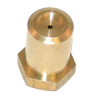 All Points 26-1780 Brass Hood Burner Orifice; #56; Natural Gas / Liquid Propane; 3/8 inch-27 Thread; 1/2 inch
