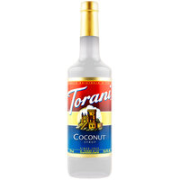 Torani 750 mL Coconut Flavoring Syrup