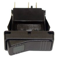 All Points 42-1413 Off/Momentary On Reset Rocker Switch - 15A/125V, 10A/250V