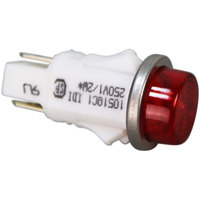 All Points 38-1008 Signal Light; 1/2 inch; Red; 250V