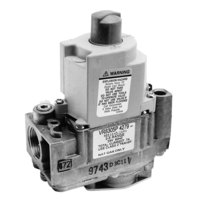 All Points 54-1062 Type VR8305P Gas Safety Valve; Natural Gas; 3/4 inch Gas In / Out; 1/4 inch Pilot Out