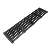 All Points 24-1089 24 1/4 inch x 5 7/8 inch Cast Iron Top Broiler Grate