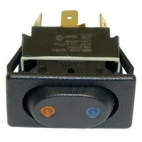 All Points 42-1378 On/Off/On Sealed Rocker Switch - 15A, 125/277V