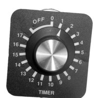 All Points 42-1188 18 Hour Timer with Knob, Dial Plate, and Hardware - 120V