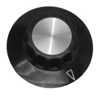 APW Wyott 8705508 Equivalent 2 1/4 inch Griddle Knob with Pointer