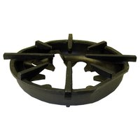 Garland / US Range 1769101 Equivalent 12 3/4 inch x 11 3/4 inch Cast Iron Oval Spider Grate