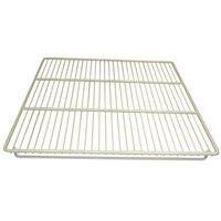 All Points 26-3245 White Epoxy Coated Wire Shelf - 25 1/4 inch x 23 inch