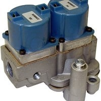 All Points 54-1114 1/2 inch NPT x 1/2 inch NPT Natural Gas Solenoid Valve - 25V