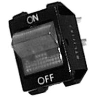 Vulcan 819871-2 Equivalent On/Off Lighted Rocker Switch - 16A/250V, 20A/125V