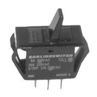 All Points 42-1215 On/Off Toggle Bat Switch - 10A/125V, 5A/250V