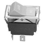Blodgett 6497 Equivalent On/Off Rocker Light Switch - 15A/125V, 10A/250V