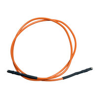 All Points 38-1374 Orange Wire Lead; 25 inch; 1/8 inch Female Push-Ons