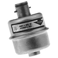 All Points 56-1022 Disposable Steam Trap; Barnes and Jones; 1/4 inch Twist and Lock; 5/8 inch Neck