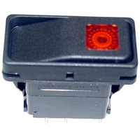 All Points 42-1325 Momentary On/Off Lighted Rocker Switch