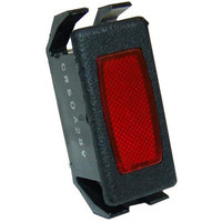 All Points 38-1142 Signal Light; 1/2 inch x 1-1/8 Red; 24 / 28V
