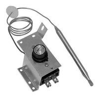 All Points 46-1129 Type KP Thermostat Kit with Knob - 100 to 199 Degrees Fahrenheit