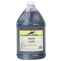 Fox's 1 Gallon Grape Slush Syrup - 4/Case