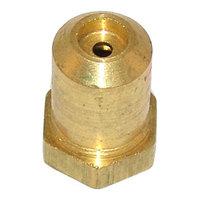Bakers Pride R3130X Equivalent Brass Hood Orifice; #44; 3/8 inch-27 Thread; 1/2 inch
